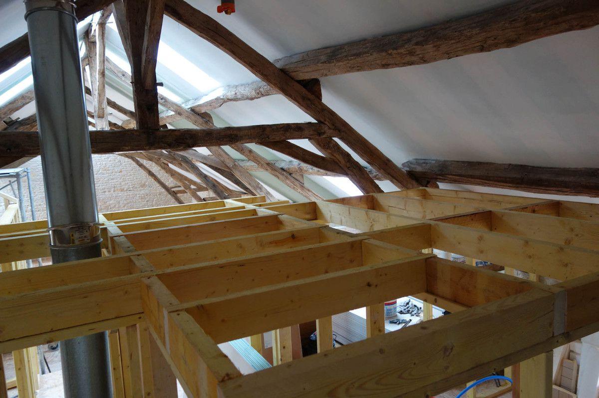 renovation d une grange en maison d habitation rnovation duune maison et duune grange with. Black Bedroom Furniture Sets. Home Design Ideas