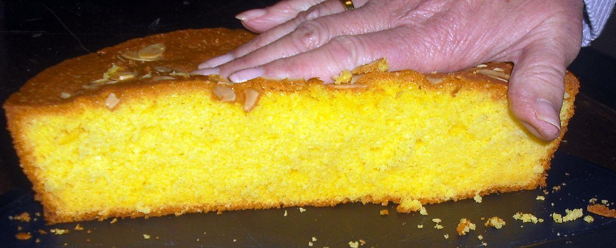La tarte-gâteau d'Huguette