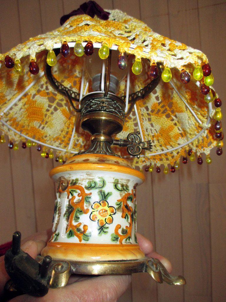 La lampe de Marie