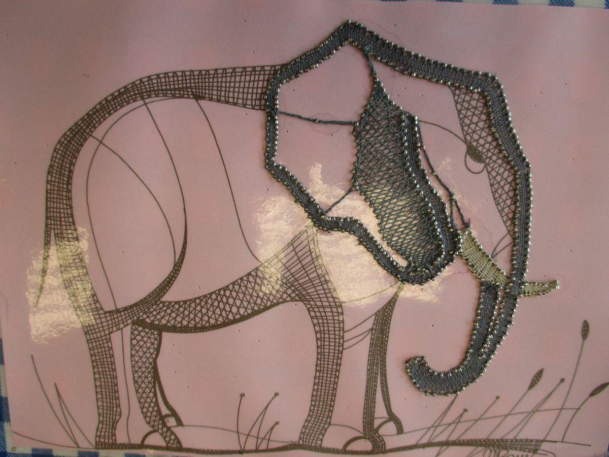 l'éléphant de Christine