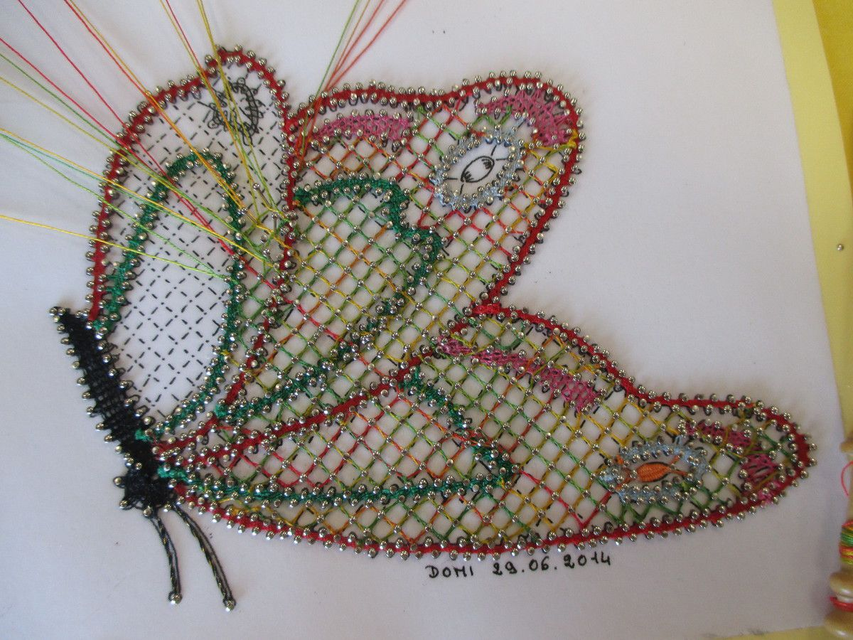 le papillon de Denise