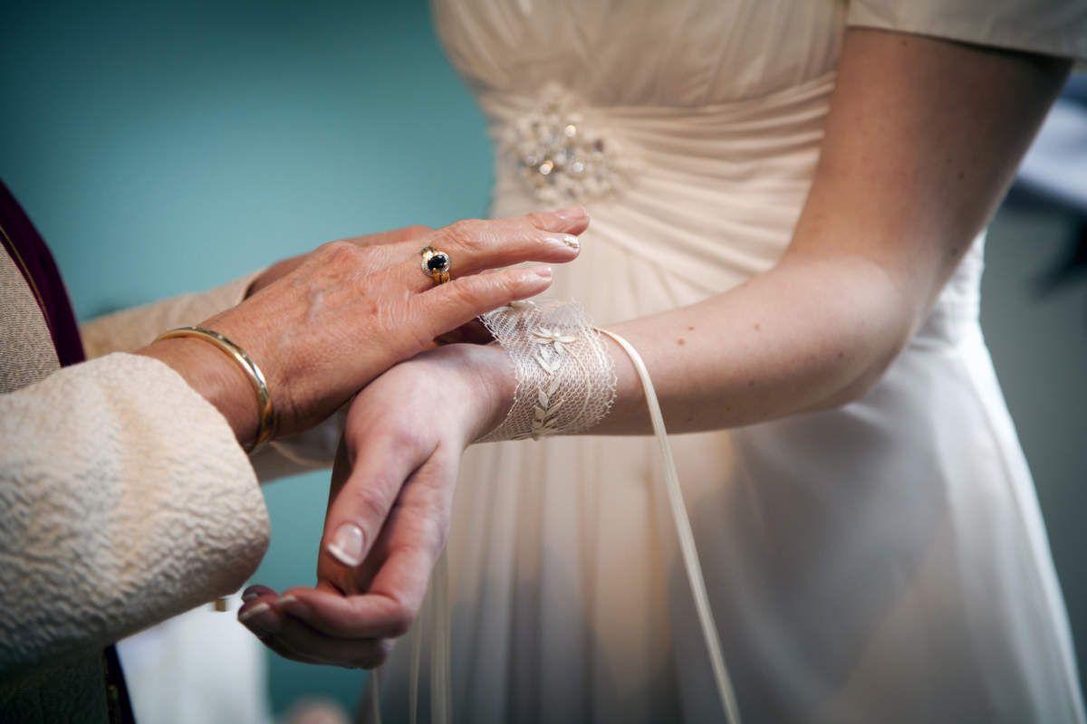 les dentelles de Marie christine pour un mariage