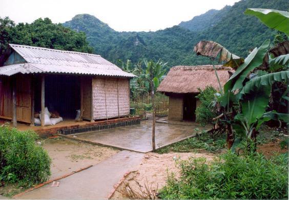 Einfache, aber sehr idyllische Dörfer.