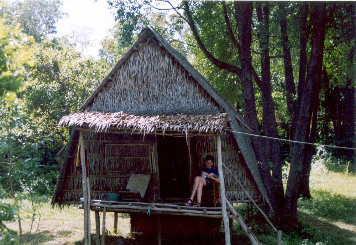 10 Tage faulenzten wir in unserer Robinsonhütte...