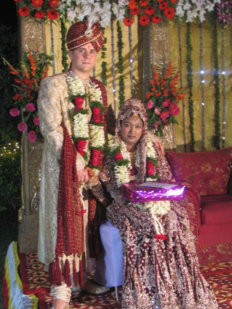 Das Maharadscha-Paar.