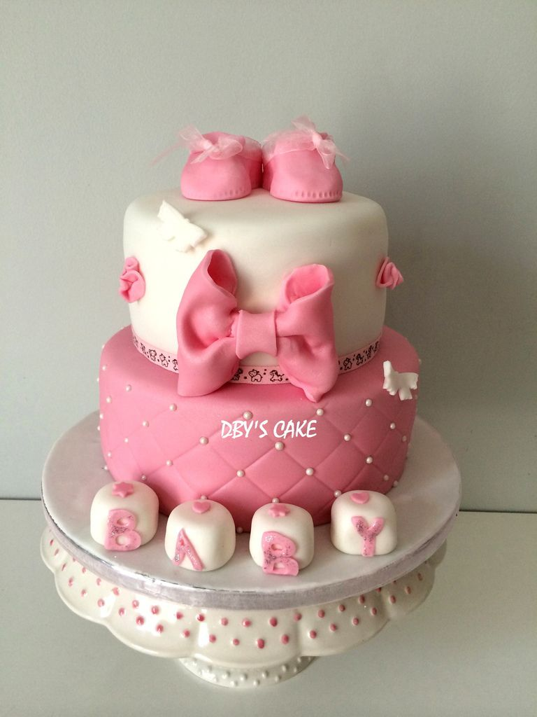 g teau baby shower fille dby 39 s cake. Black Bedroom Furniture Sets. Home Design Ideas