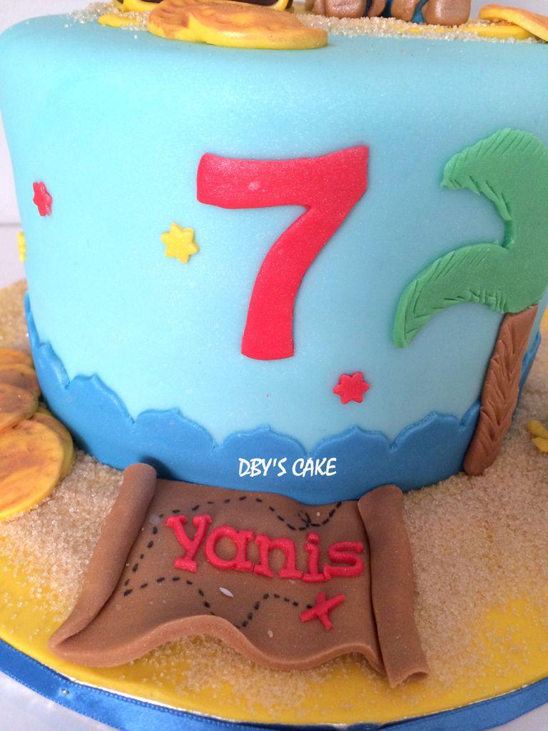 Gâteau Jake &amp&#x3B; les Pirates