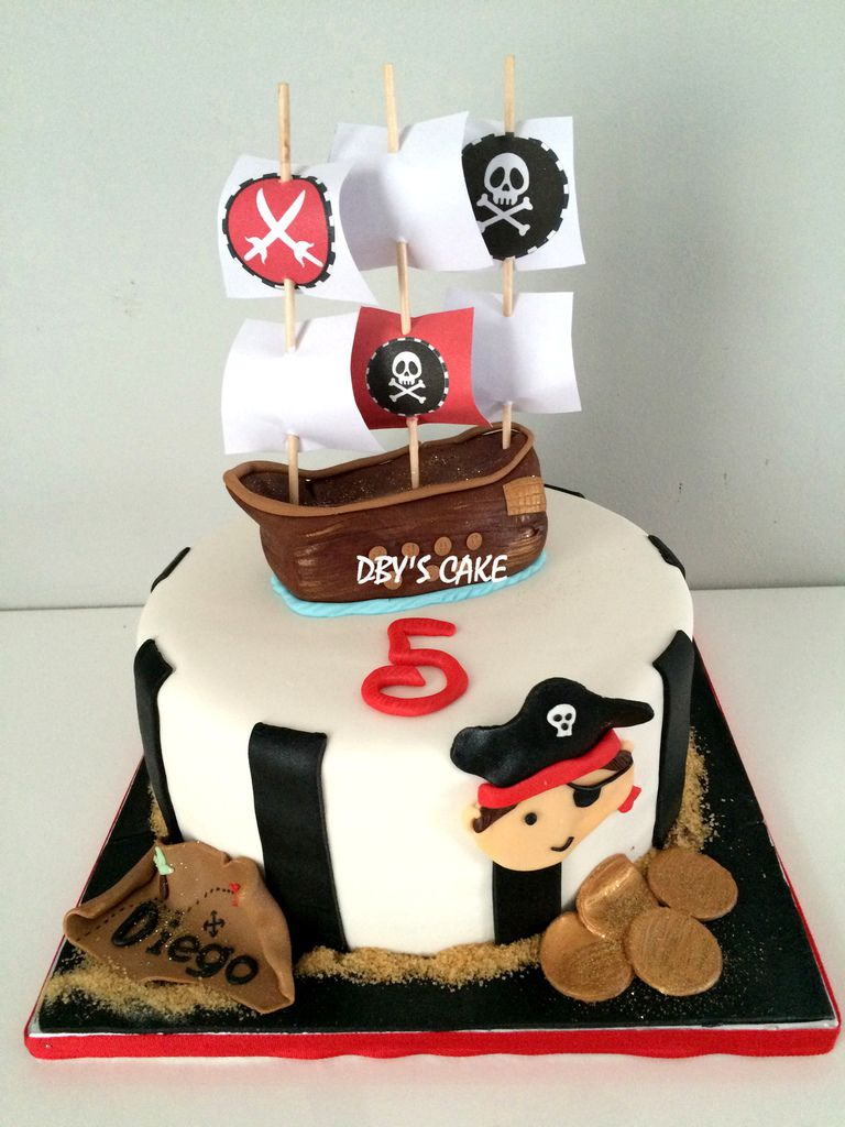Sables Pirates Dby S Cake
