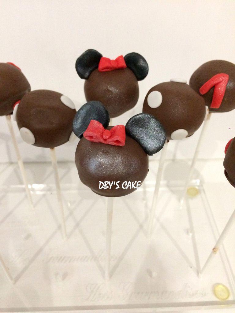 Cupcakes &amp&#x3B; Cake Pops thème Minnie
