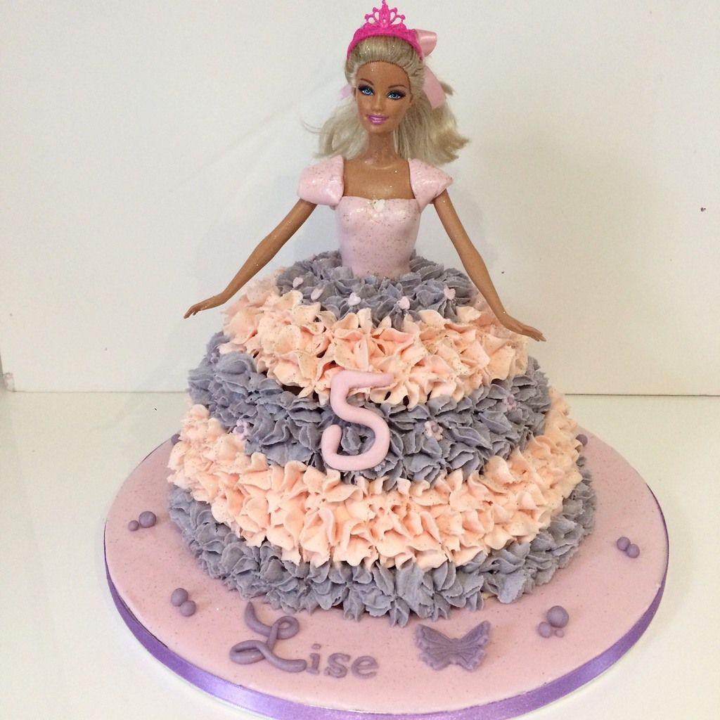 Gâteau Barbie 2