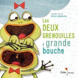 Les deux grenouilles à grande bouche de Pierre Delye