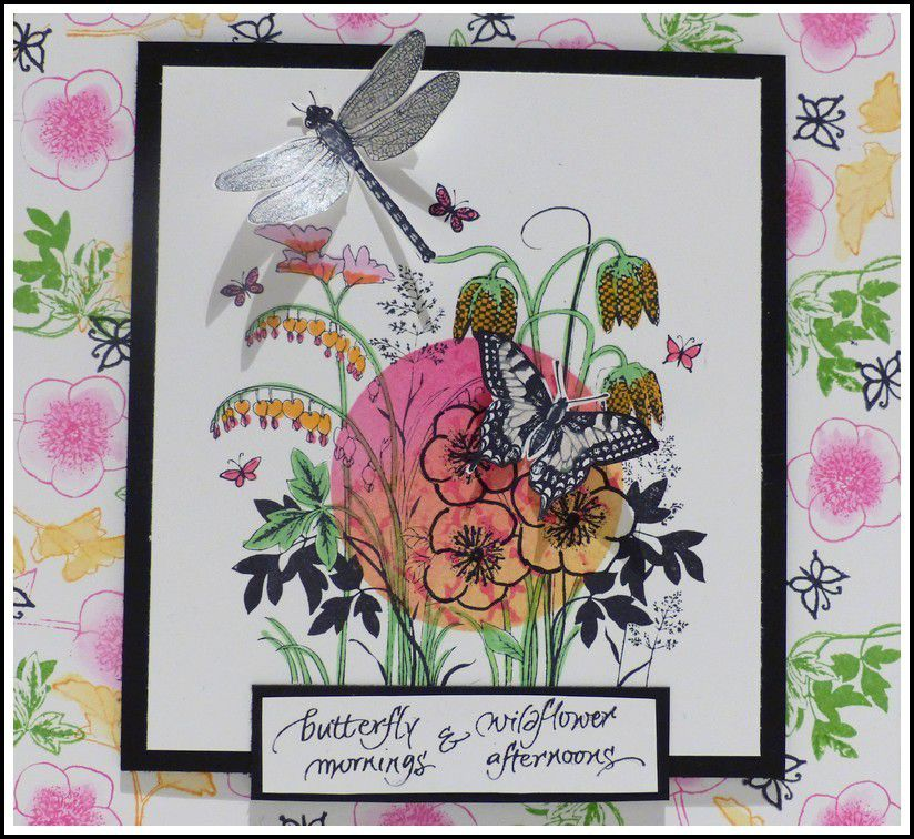 CARTE EN FLEURS- DT CRAFTY INDIVIDUALS