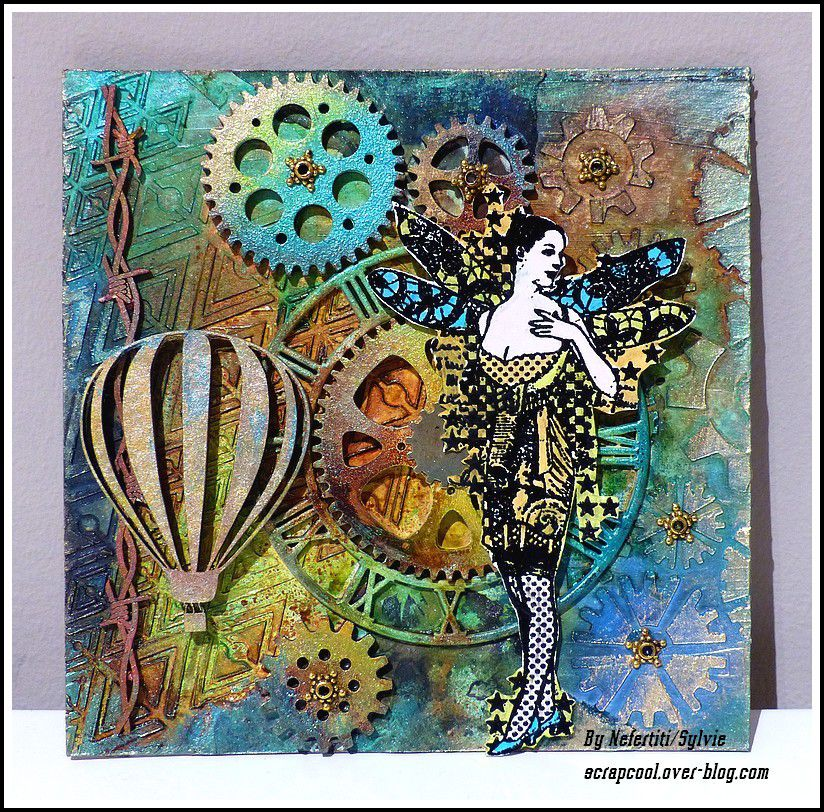 CARTE CANVAS STEAMPUNK