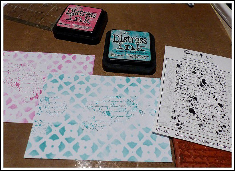 DEUX CARTES - DT CRAFTY INDIVIDUALS