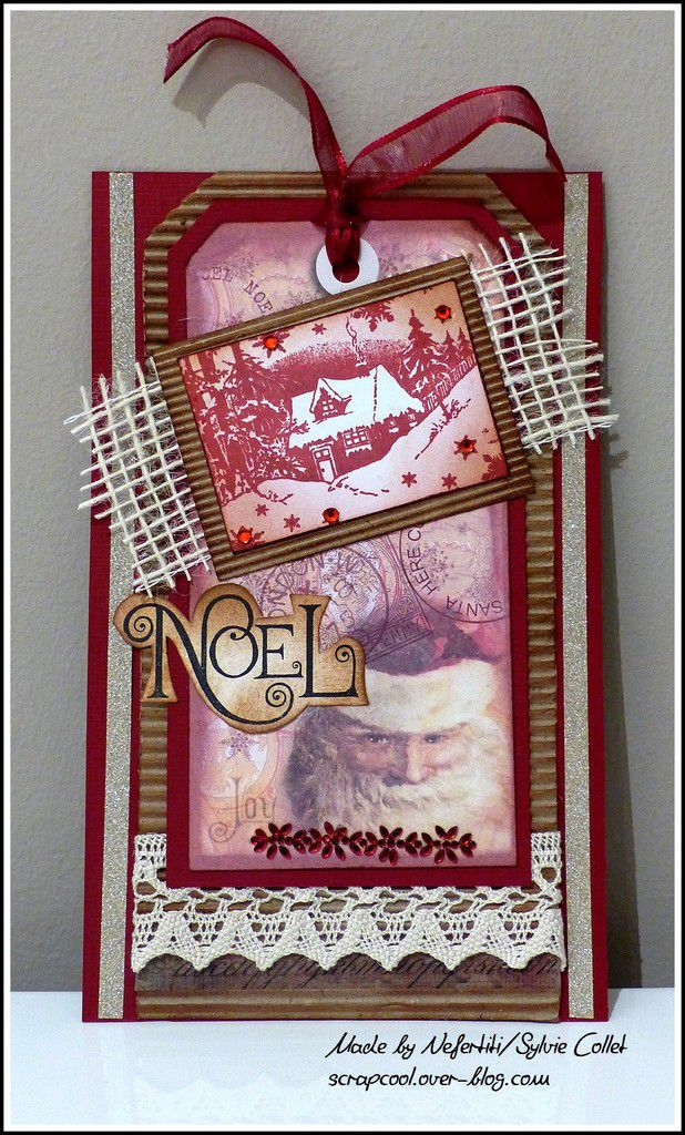 TAGS DE NOEL - DT CRAFTY INDIVIDUALS