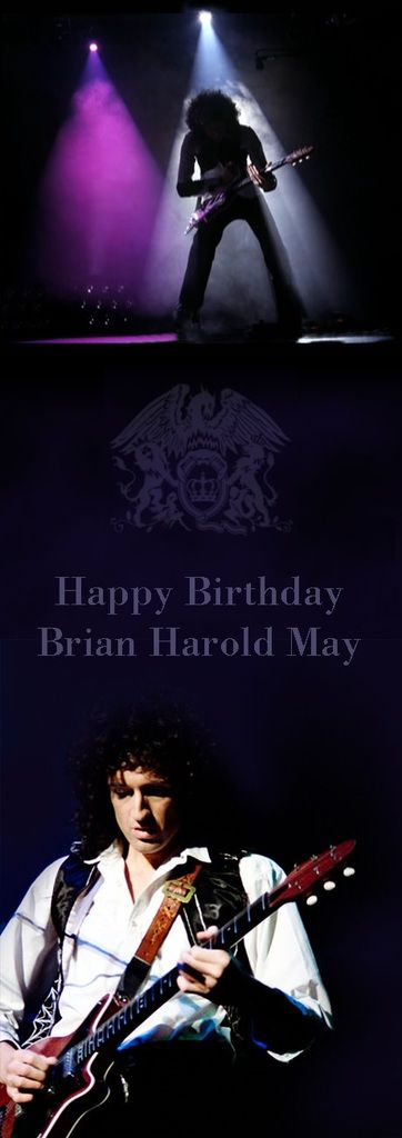 Happy birthday! Brian May turns 68 today