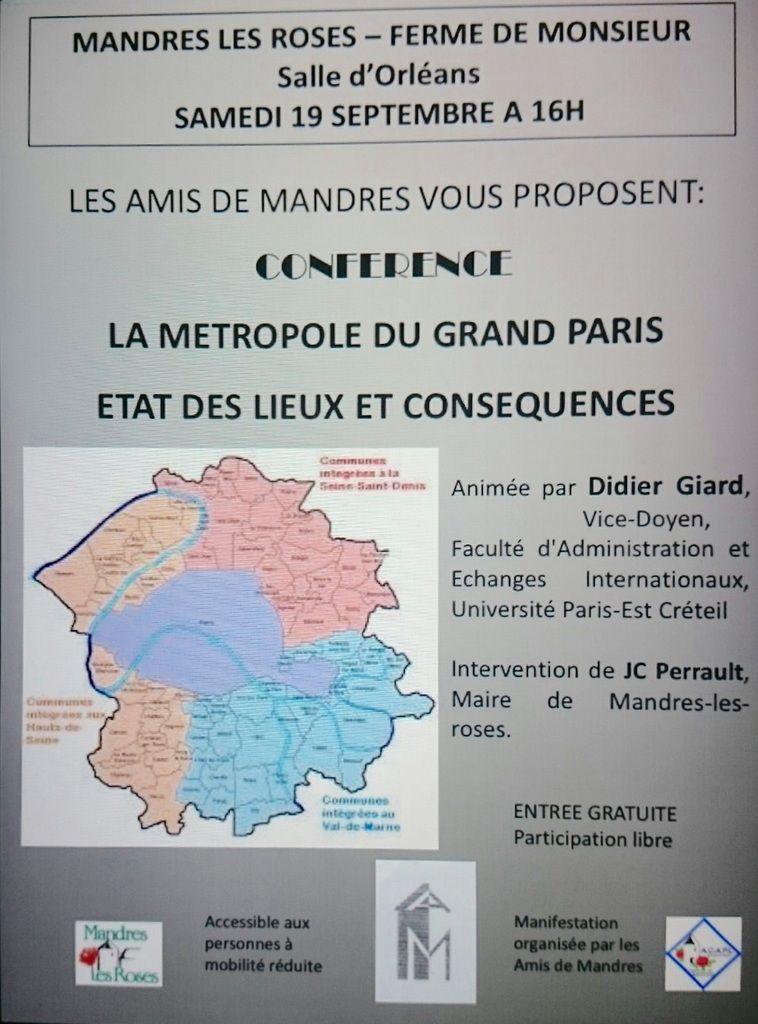 GRAND PARIS : où en est notre Commune?