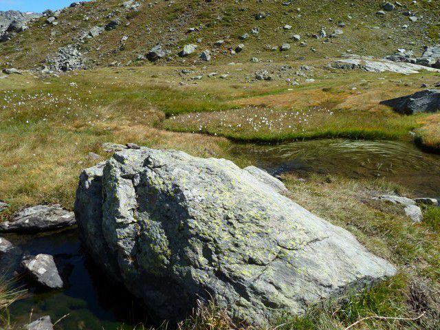 Briançonnais : vallée de la Clarée, lacs long et rond