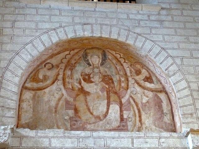 Les fresques de Saint Savin