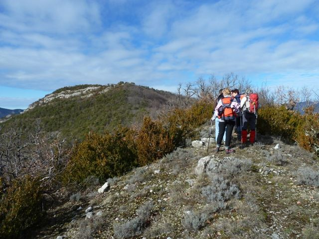 GREB - Barsac, pas de Lovas. 13 kilomètres, dénivelé 700 mètres