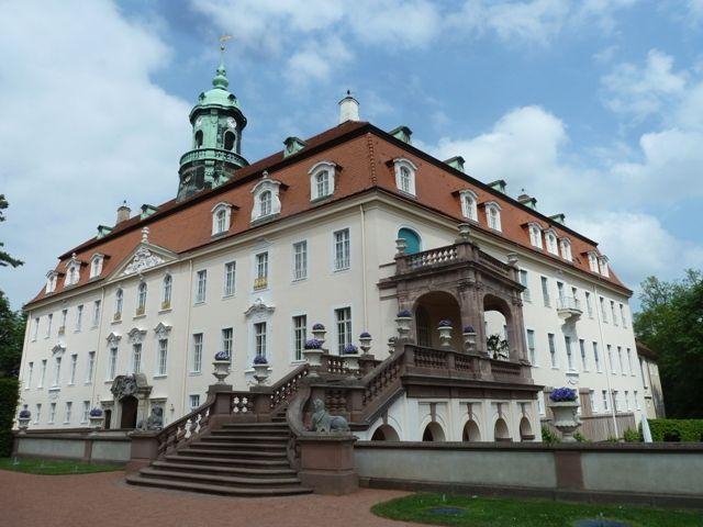 Saoû chante Mozart à Chemnitz - le château de Lichtenwalde