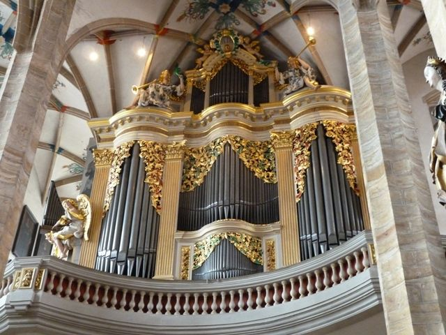 Saoû chante Mozart à Chemnitz - les orgues de Gottfried Sibermann