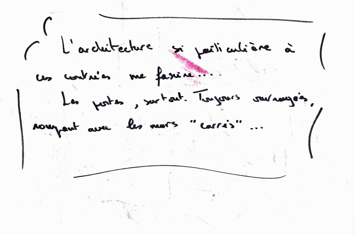 """un """"carnet de voyage"""" fait à l'exposition de Douarnenez """"Dans le sillage de Sinbad"""""""