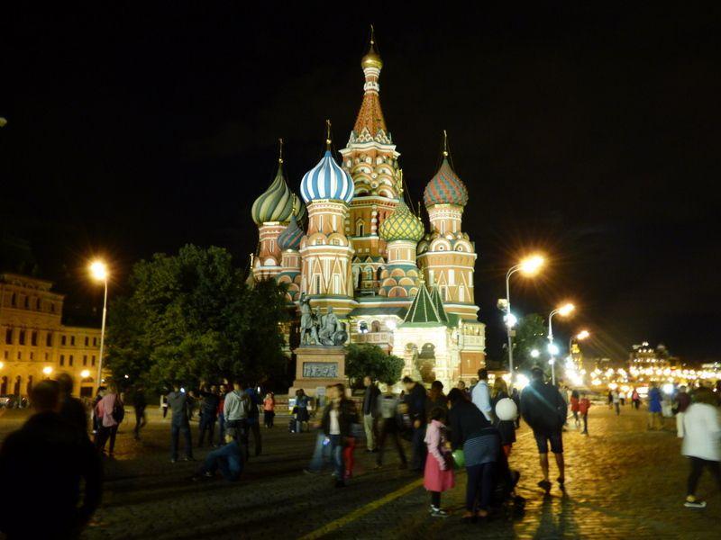 17 août, Moscou
