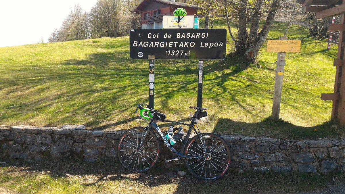 Col de Bagargi au coeur du Pays Basque
