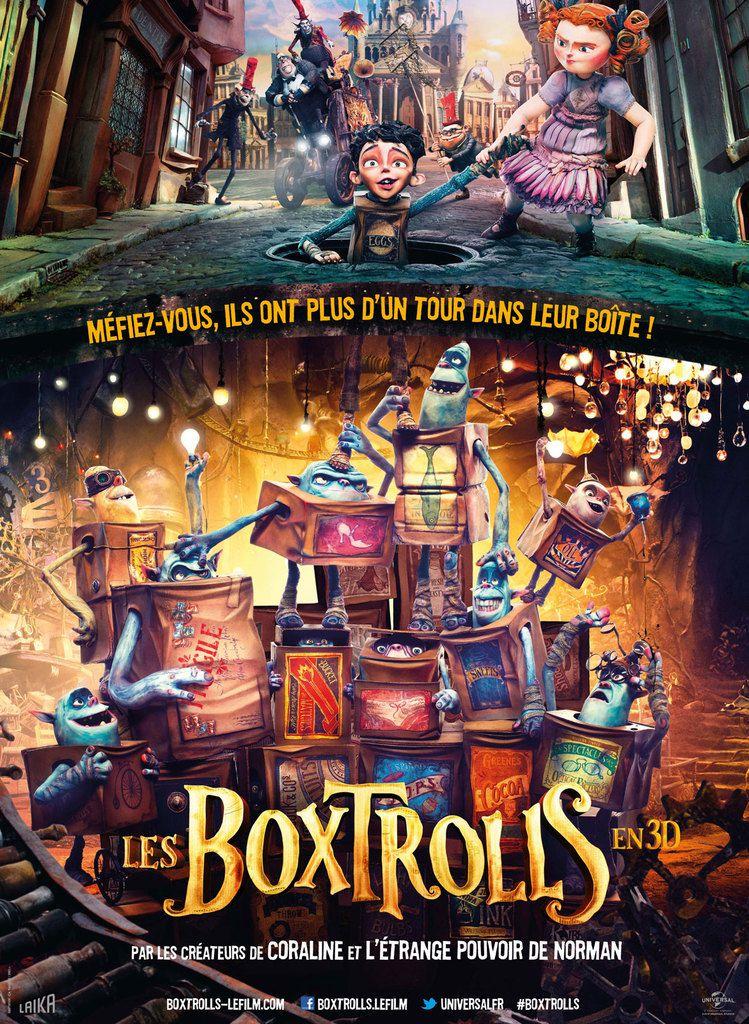 @ L'AFFICHE, &quot&#x3B;LES BOXTROLLS&quot&#x3B;