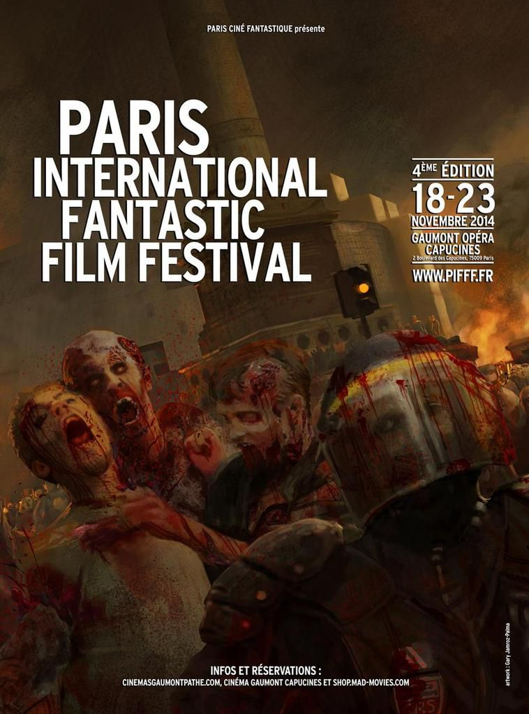 PARIS INTERNATIONAL FANTASTIC FILM FESTIVAL 2014