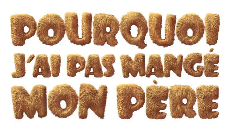 """""""POURQUOI J'AI PAS MANGÉ MON PÈRE"""", L'AFFICHE !"""