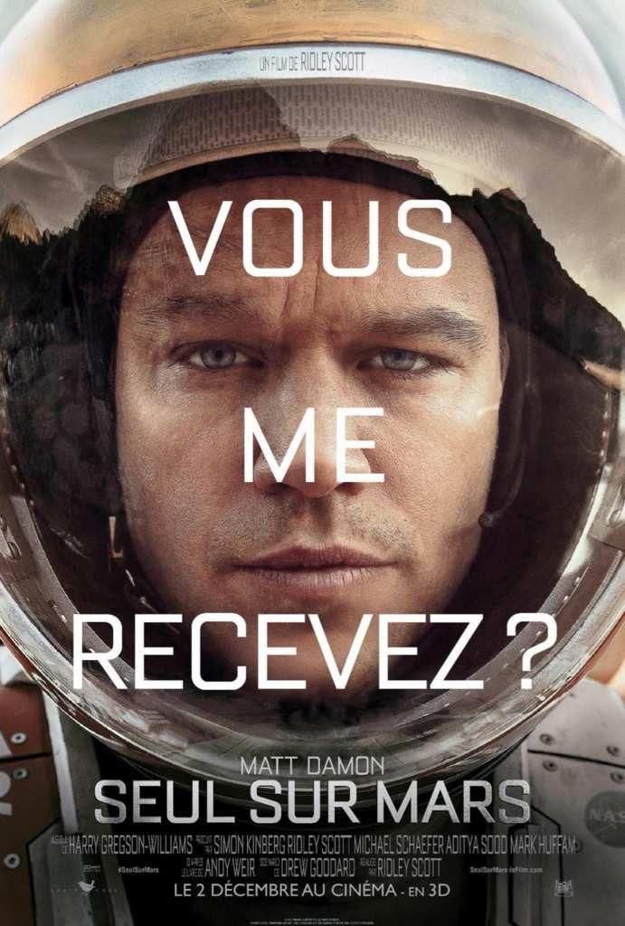MATT DAMON EST &quot&#x3B;SEUL SUR MARS&quot&#x3B; DANS LE PROCHAIN RIDLEY SCOTT