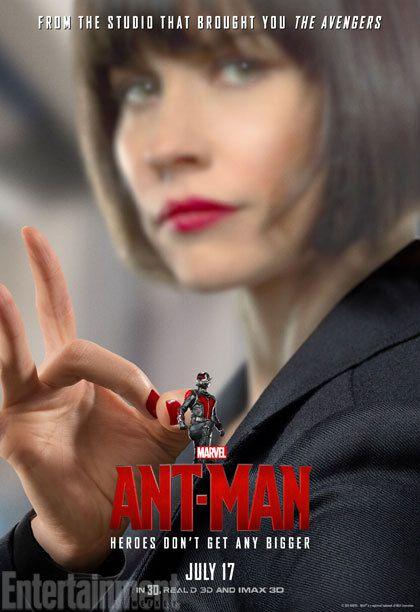 &quot&#x3B;ANT-MAN&quot&#x3B;: AFFICHES DU PREMIER FILM DE SUPER-HÉROS DE L'ÉTÉ !