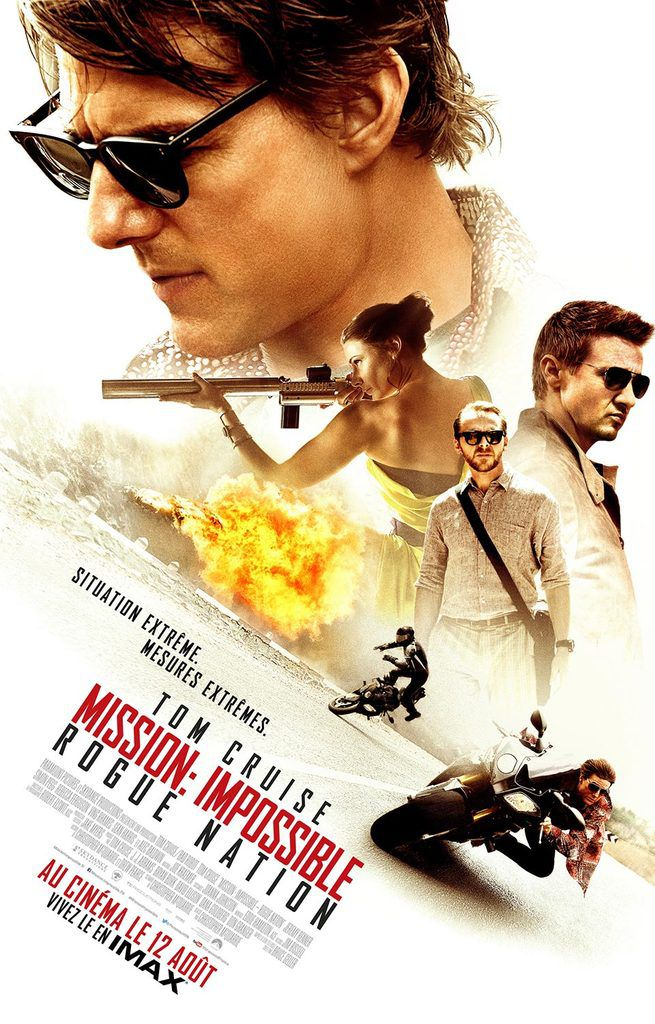 """Mission: Impossible - Rogue Nation"" de Christopher McQuarrie"