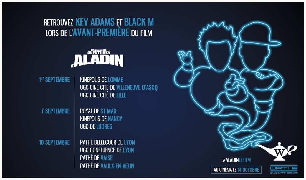 &quot&#x3B;LES NOUVELLES AVENTURES D'ALADIN&quot&#x3B;: BANDE-ANNONCE DÉJANTÉE ET DATES DES AVANT-PREMIÈRES !