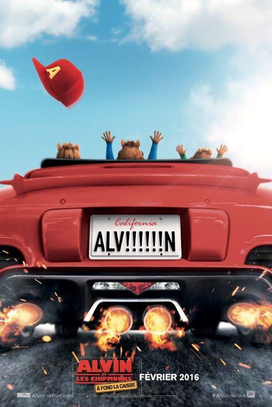 &quot&#x3B;ALVIN ET LES CHIPMUNKS 4&quot&#x3B;: AFFICHE ET TEASER FRANCAIS !