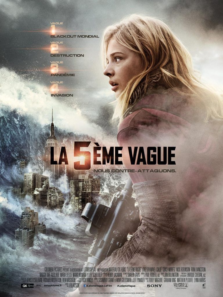 """LA 5ÈME VAGUE"", L'AFFICHE OFFICIELLE QUI DONNE ENCORE PLUS ENVIE !"