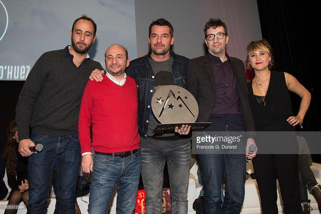 """L'équipe du film """"Adopte Un Veuf"""""""