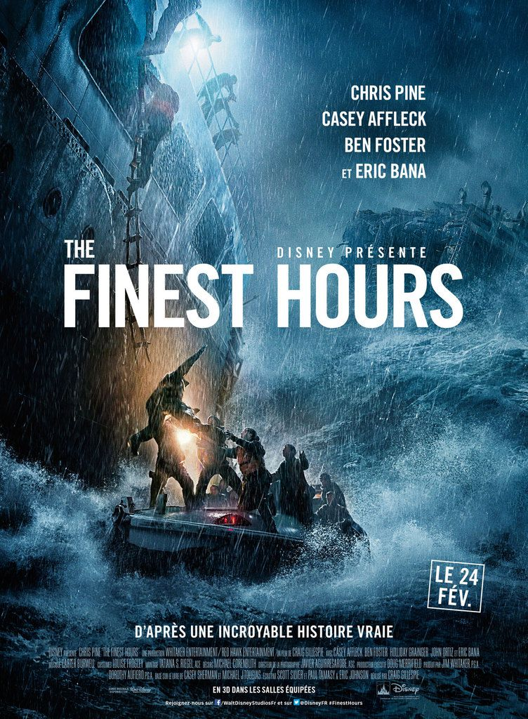 CRITIQUE: &quot&#x3B;THE FINEST HOURS&quot&#x3B;