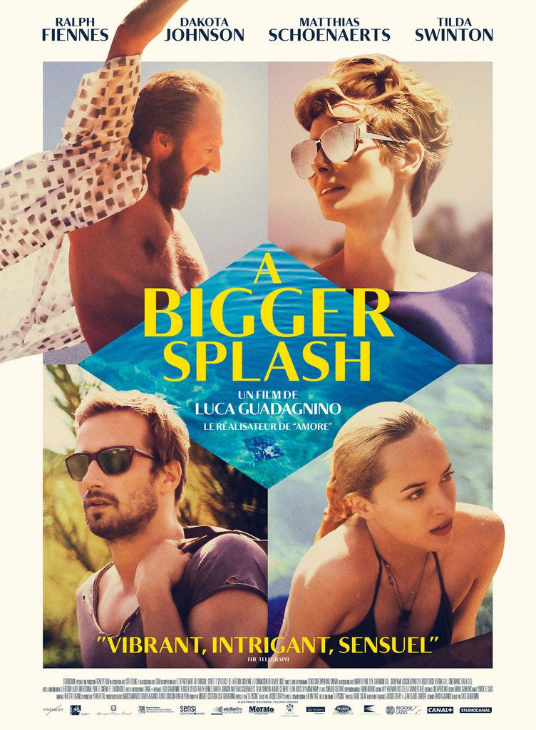 CRITIQUE : &quot&#x3B;A BIGGER SPLASH&quot&#x3B;