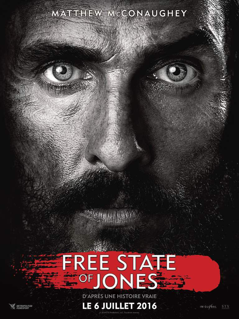 &quot&#x3B;FREE STATE OF JONES&quot&#x3B;, BANDE-ANNONCE