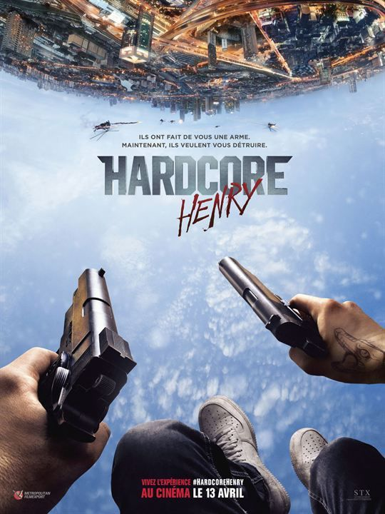 &quot&#x3B;HARDCORE HENRY&quot&#x3B;, BANDE-ANNONCE
