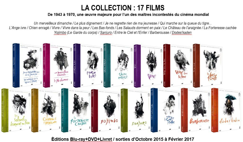 CONCOURS, COLLECTION KUROSAWA (AVRIL 2016)