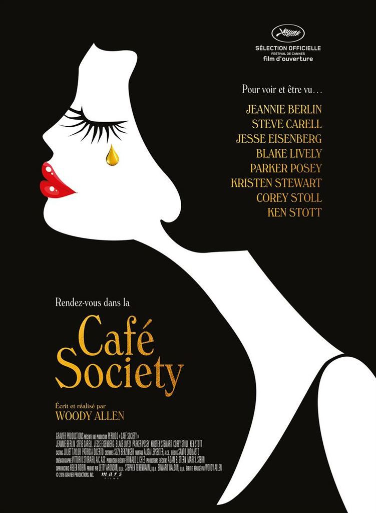 #CANNES2016 &quot&#x3B;CAFE SOCIETY&quot&#x3B;, BANDE-ANNONCE