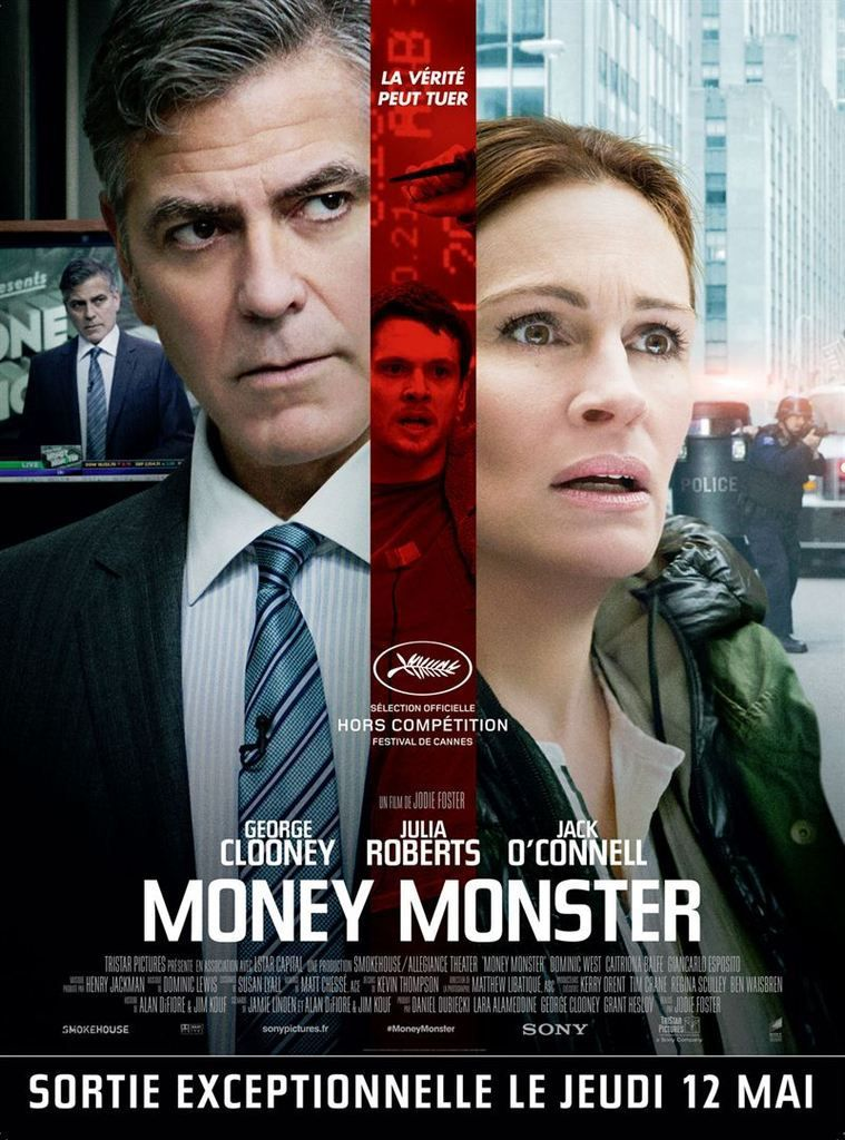#CANNES2016 MONEY MONSTER'S DAY !