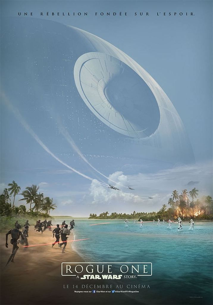 "La première affiche de ""Rogue One: A Star Wars Story"""