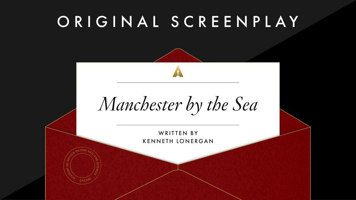 "Meilleur scénario original: ""Manchester By The Sea"""
