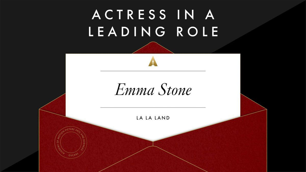 Meilleure actrice: Emma Stone