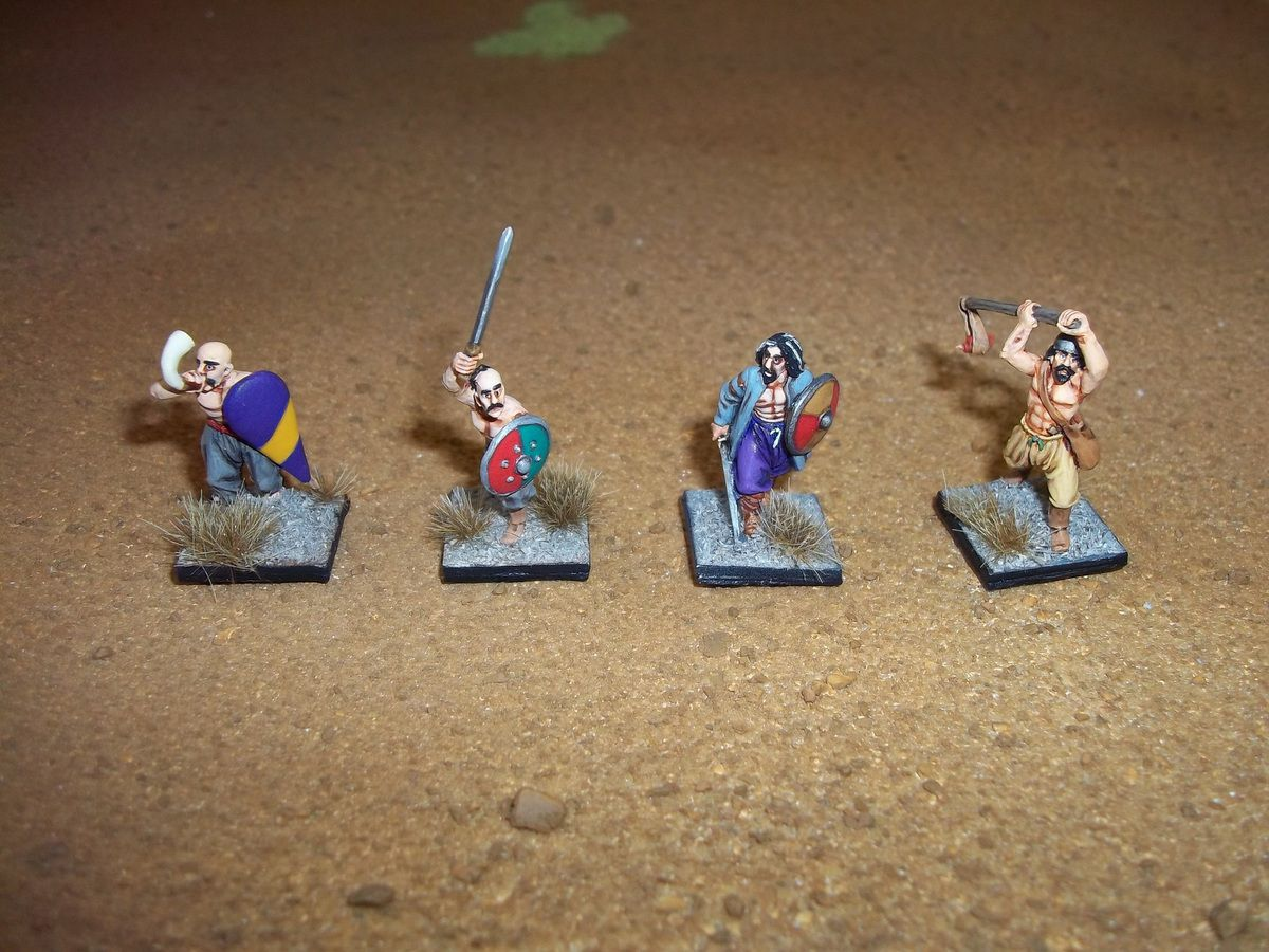 Figurines Perry Miniatures.